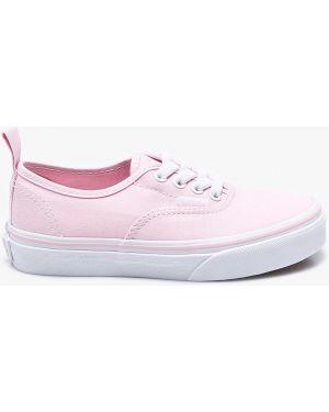 Розовые кеды Vans
