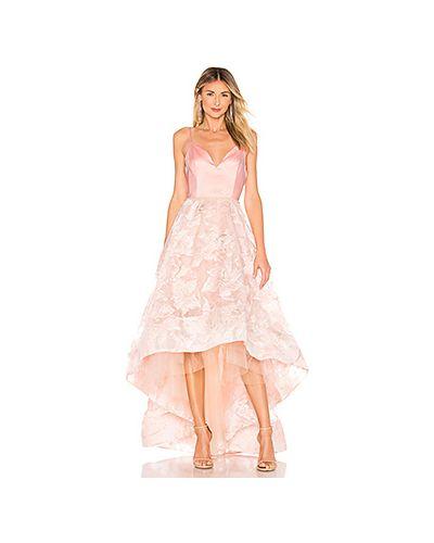 Вечернее платье с бисером на бретелях Bronx And Banco