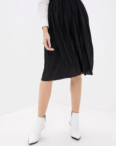 Плиссированная юбка черная Jacqueline De Yong