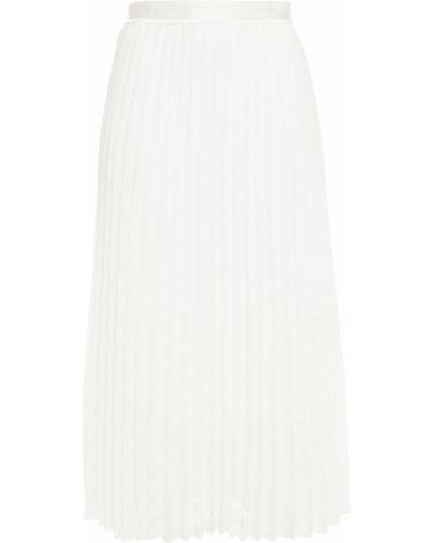 Белая плиссированная юбка миди на крючках Victoria, Victoria Beckham