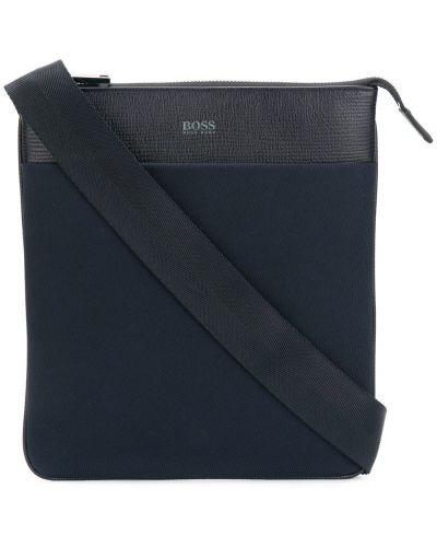 Кожаная сумка на плечо из полиэстера с логотипом Boss Hugo Boss