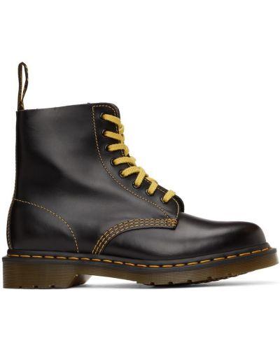 Ботинки на шнуровке - черные Dr. Martens