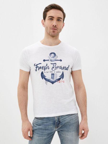Белая футболка Fresh Brand