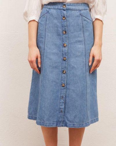 Джинсовая юбка Gerard Darel
