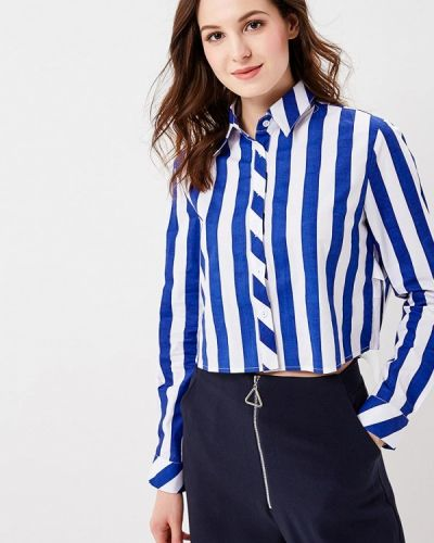 Синяя блузка Glamorous