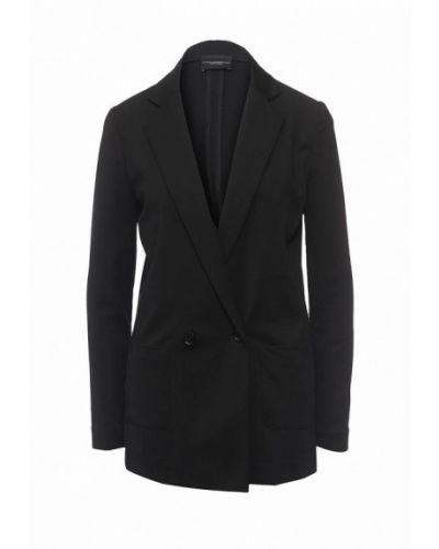 Черный пиджак Atos Lombardini