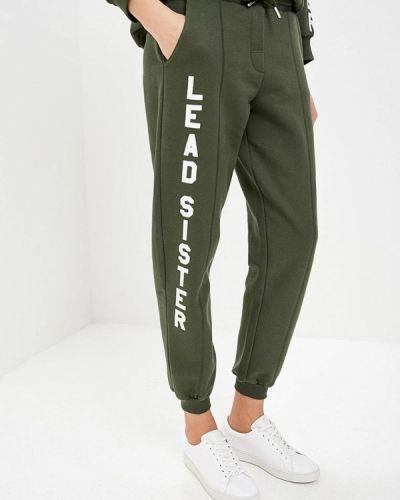 Зеленые спортивные брюки Zoe Karssen