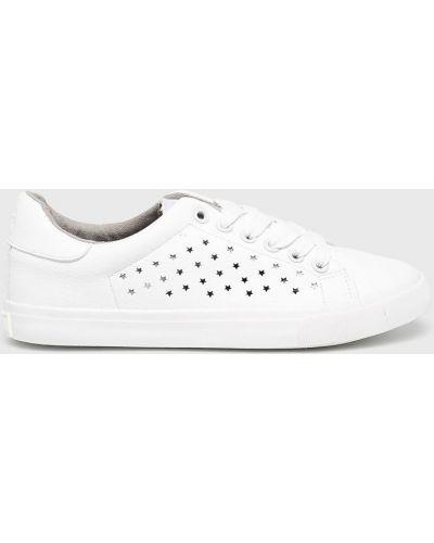 Низкие кеды белые на шнуровке Big Star