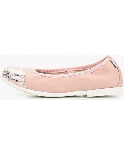 Балетки розовый Melania