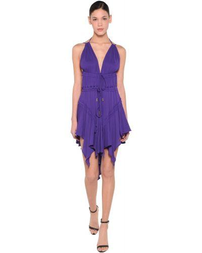 Платье с поясом с открытой спиной на бретелях Dsquared2