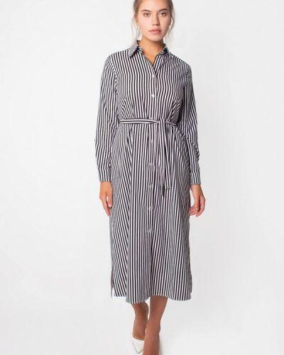 Платье платье-рубашка осеннее Malaeva