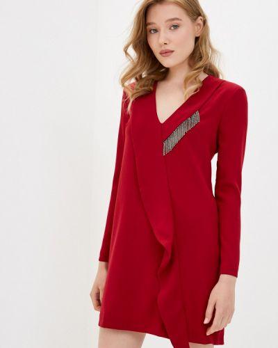 Красное прямое платье Imperial