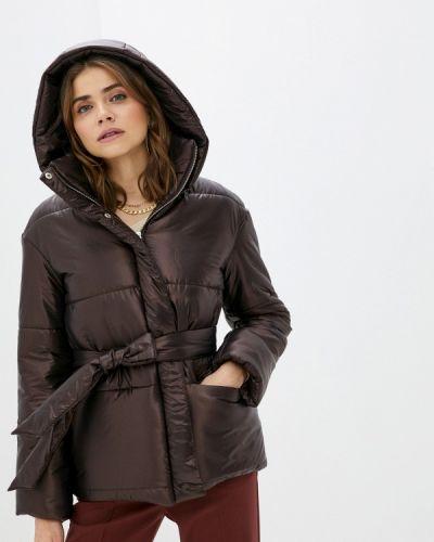 Утепленная коричневая куртка Trendyangel