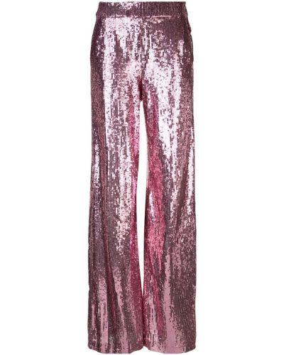 Широкие брюки - розовые Prabal Gurung