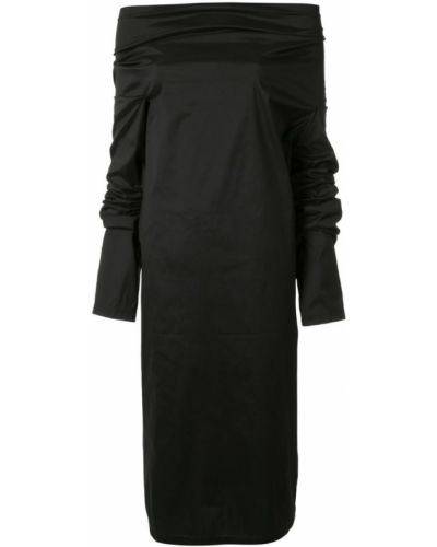 Платье с длинными рукавами черное Zambesi