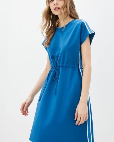 Синее платье Adl