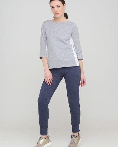 Трикотажные спортивные брюки - синие Only