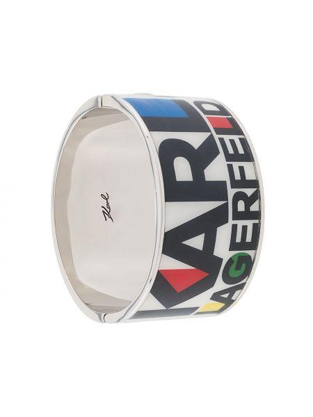 Bransoletka ze srebra srebro Karl Lagerfeld