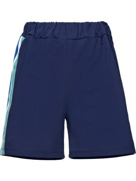 Хлопковые синие шорты Alessandro Dell'acqua