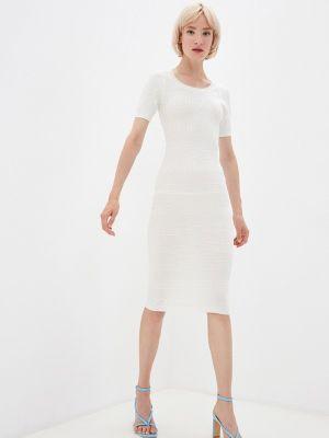 Вязаное платье - белое Soky & Soka