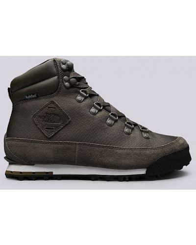 Кожаные ботинки зеленый The North Face