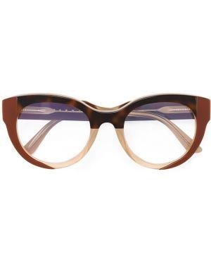 Очки хаки Marni Eyewear