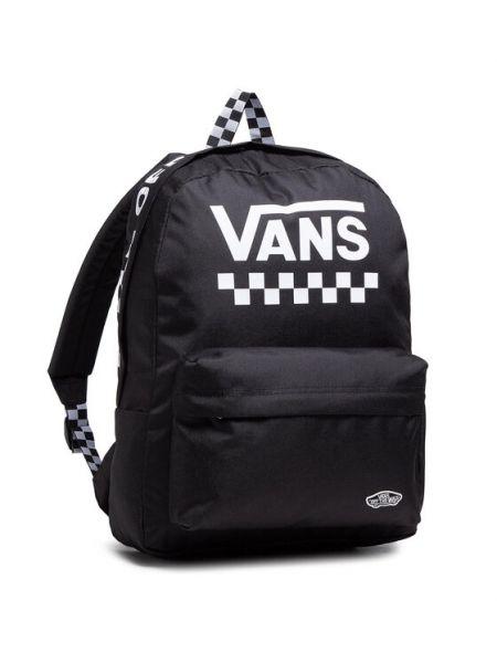 Czarny sport plecak sportowy Vans
