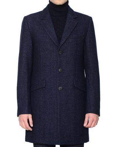 Пальто шерстяное из вискозы Antony Morato
