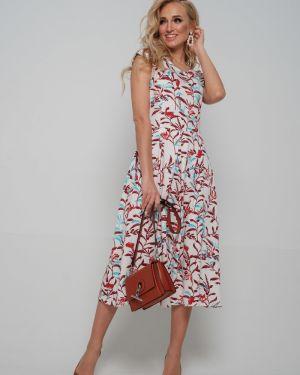 Платье платье-сарафан на молнии Leleya