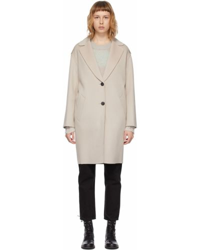 Черное пальто с воротником Mackage