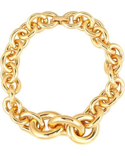 Codziennie choker złoto Saint Laurent