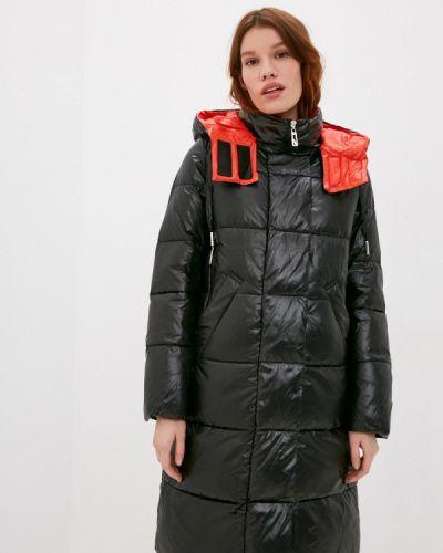 Черная утепленная куртка Purelife