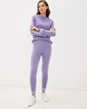 Костюм вязаный фиолетовый Bgn