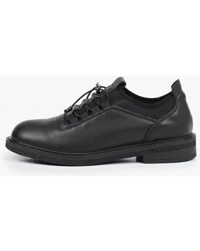 Черные кожаные ботинки Inario
