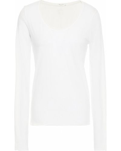 Biały top bawełniany Rag & Bone