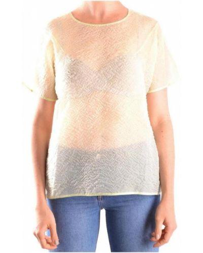 Beżowa t-shirt Carven