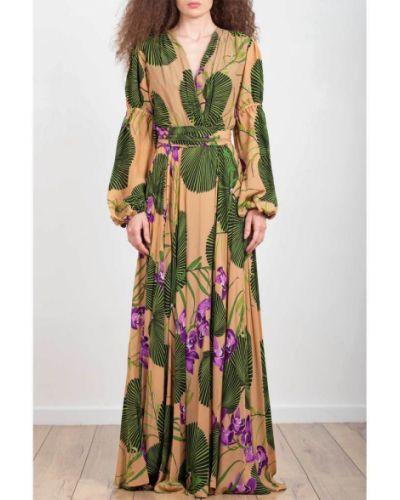 Beżowa sukienka Maesta