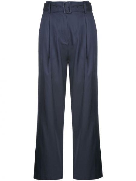 Свободные брюки с поясом с карманами Fleur Du Mal