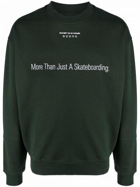 Bluza dresowa - zielona Paccbet