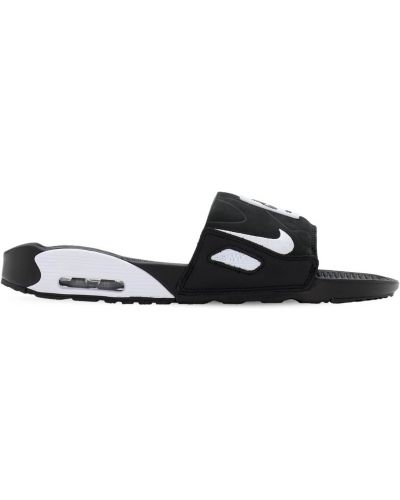 Czarny skórzany sandały Nike