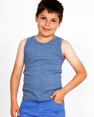 Хлопковая повседневная приталенная рубашка на бретелях Lika Dress