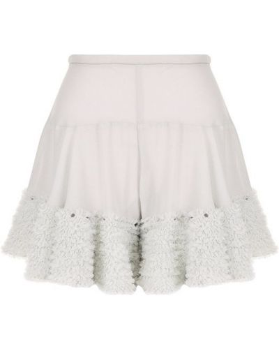 Короткие шорты с оборками Chloé