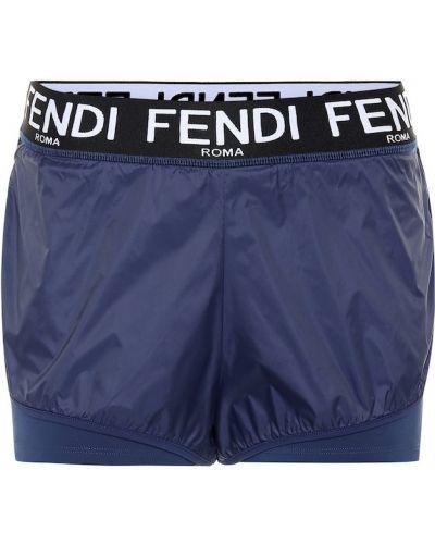 Спортивные шорты синий Fendi
