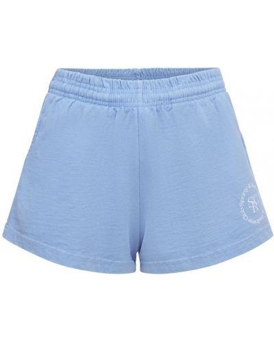 Синие шорты с карманами Sporty And Rich