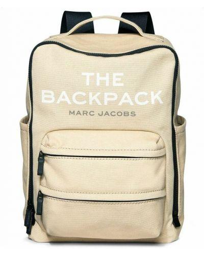 Plecak - beżowy Marc Jacobs