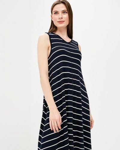 Платье весеннее синее Iwie