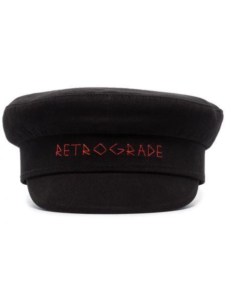 Хлопковая шапка - черная Ruslan Baginskiy