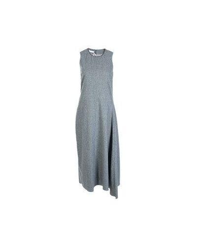 Повседневное платье серое зимнее Fabiana Filippi