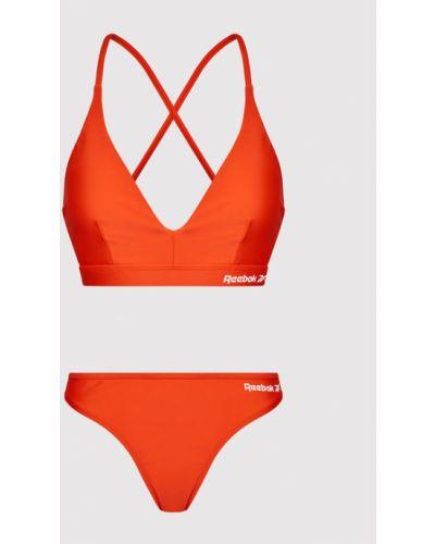 Pomarańczowy bikini Reebok