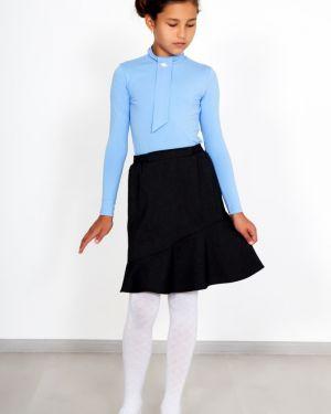 Шерстяная прямая классическая юбка на резинке Lika Dress